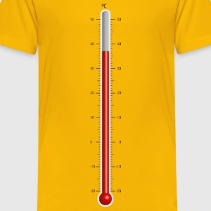 Celsius Thermometer - Kids' Premium T-Shirt
