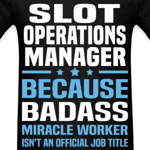 Slot Operations Manager Tshirt - Men's T-Shirt