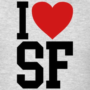 i love SF shirt - Men's T-Shirt