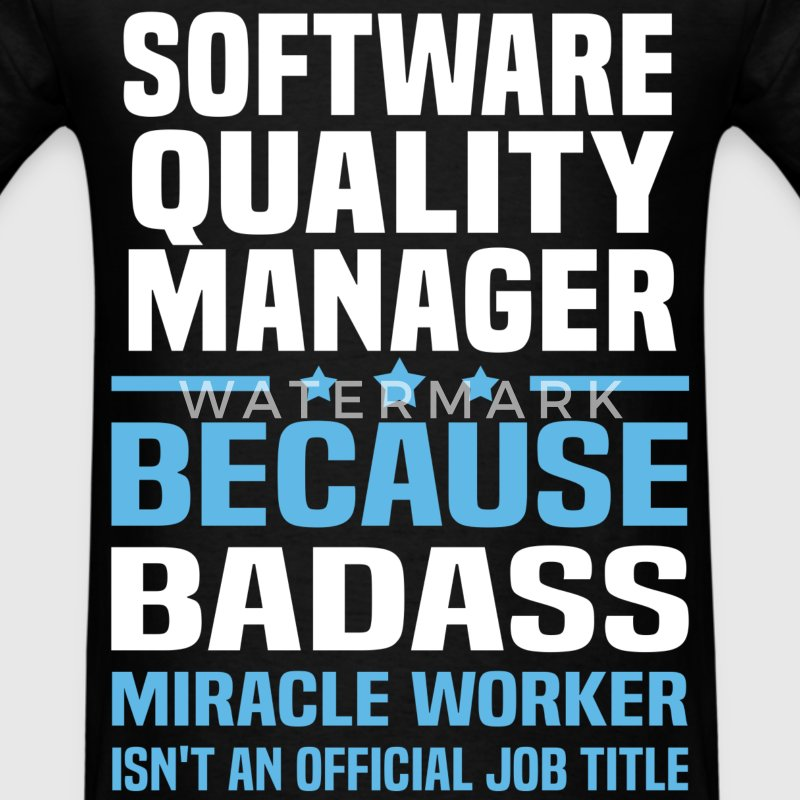 Software Quality Manager Tshirt - Men's T-Shirt