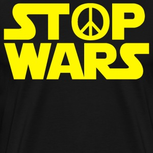 Stop Wars T-Shirts - Men's Premium T-Shirt
