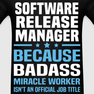 Software Release Manager Tshirt - Men's T-Shirt