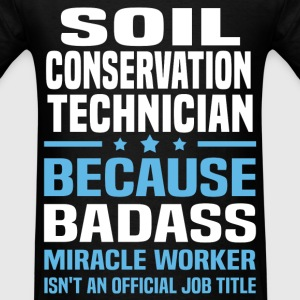 Soil Conservation Technician Tshirt - Men's T-Shirt