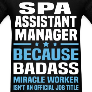 Spa Assistant Manager Tshirt - Men's T-Shirt