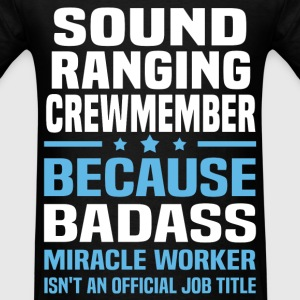 Sound Ranging Crewmember Tshirt - Men's T-Shirt