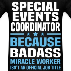 Special Events Coordinator Tshirt - Men's T-Shirt