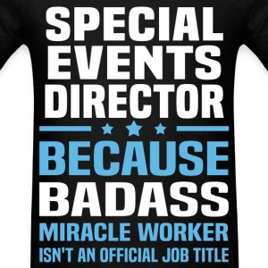 Special Events Director Tshirt - Men's T-Shirt