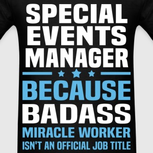 Special Events Manager Tshirt - Men's T-Shirt