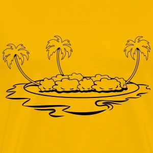 Island holiday sea T-Shirts - Men's Premium T-Shirt