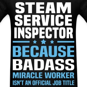 Steam Service Inspector Tshirt - Men's T-Shirt