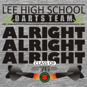 Lee High School Darts Team Class of 1976 - Men's Premium T-Shirt