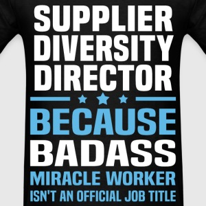 Supplier Diversity Director Tshirt - Men's T-Shirt