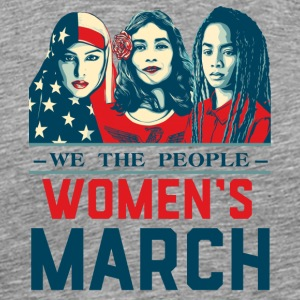 Women's March 2017t shirt - Men's Premium T-Shirt