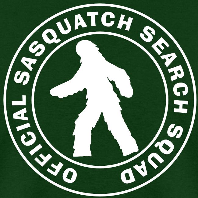 Official Sasquatch Research Squad  - Men's Shirt - White Print