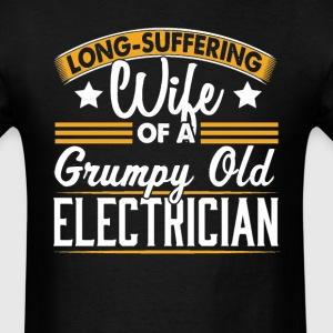 Electrician Long Suffering Wife T-Shirt T-Shirts - Men's T-Shirt
