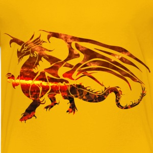 Magma Dragon 2 - Kids' Premium T-Shirt