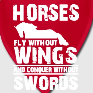 horses fly without wings Caps - Bandana