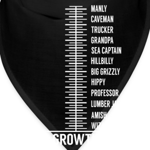 beard growth chart Caps - Bandana