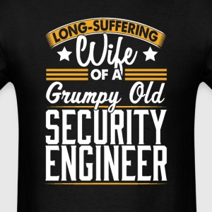 Security Engineer Long Suffering Wife T-Shirt T-Shirts - Men's T-Shirt