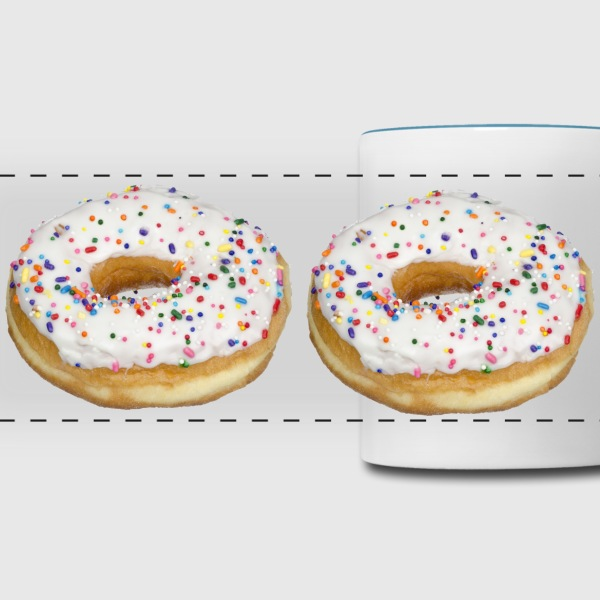 Donut Coffee Cup - Panoramic Mug