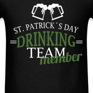 St. Patrick - St. Patrick's day drinking team memb - Men's T-Shirt