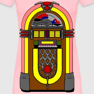 Fifties Jukebox - Women's Premium T-Shirt