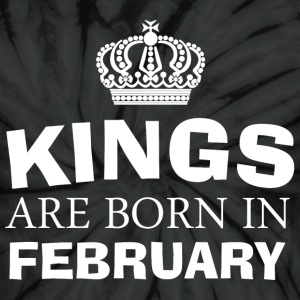 kings are born in february - Unisex Tie Dye T-Shirt