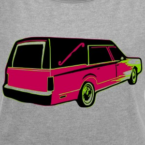 Hearse T-Shirts - Women´s Rolled Sleeve Boxy T-Shirt