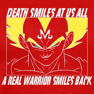 Vegeta Real Warrior - Men's Premium T-Shirt