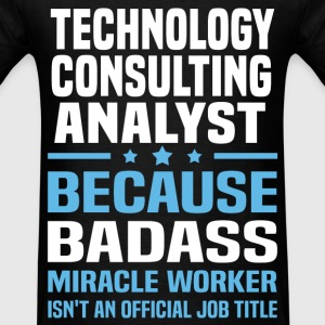 Technology Consulting Analyst T-Shirts - Men's T-Shirt