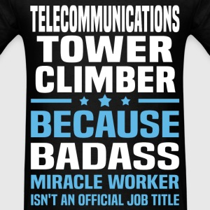 Telecommunications Tower Climber T-Shirts - Men's T-Shirt