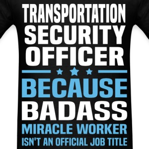 Transportation Security Officer T-Shirts - Men's T-Shirt
