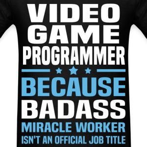 Video Game Programmer T-Shirts - Men's T-Shirt