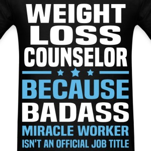 Weight Loss Counselor T-Shirts - Men's T-Shirt