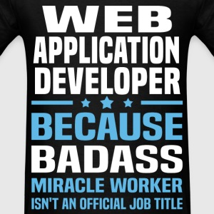 Web Application Developer T-Shirts - Men's T-Shirt