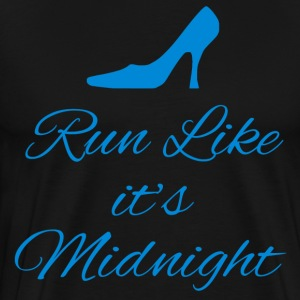 Run Like Its Midnight T-Shirts - Men's Premium T-Shirt