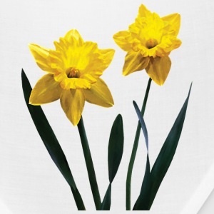 Yellow Daffodil Pair Caps - Bandana
