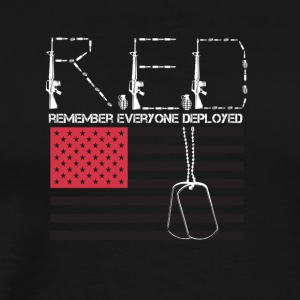 Red ( Remembering Everyone Deployed) - Men's Premium T-Shirt