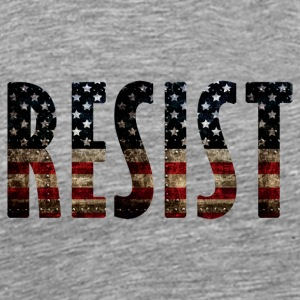 Resist Protest Peacefully Everyday -Activism Brave - Men's Premium T-Shirt