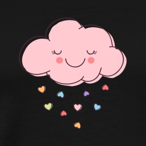 Raining Hearts - Men's Premium T-Shirt