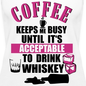 Coffee - drink Whiskey Tanks - Women's Premium Tank Top
