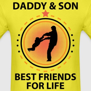 Daddy And Son Best Friends For Life T-Shirts - Men's T-Shirt