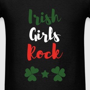 St. Patrick`s Day - Irish Girls Rock - Men's T-Shirt