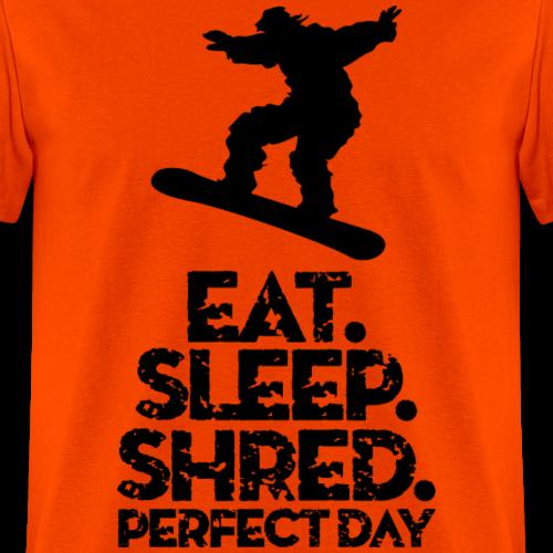 Snowboard Eat Sleep Shred