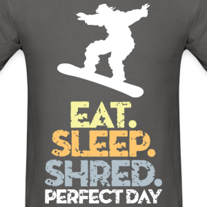 Snowboard Eat Sleep Shred