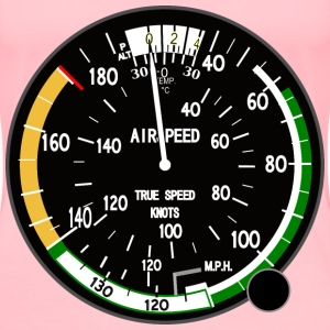 True Airspeed Indicator - Women's Premium T-Shirt
