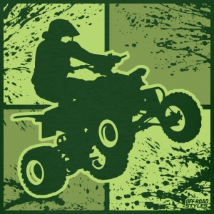 ATV Quad Racing T-Shirts - Men's T-Shirt
