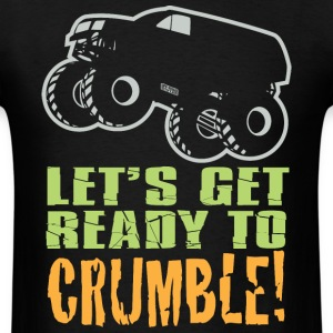 Monster Truck Crumble T-Shirts - Men's T-Shirt