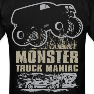 Monster Truck Maniac T-Shirts - Men's T-Shirt