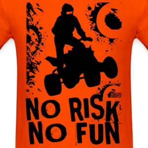 ATV Quad No Race No Fun T-Shirts - Men's T-Shirt